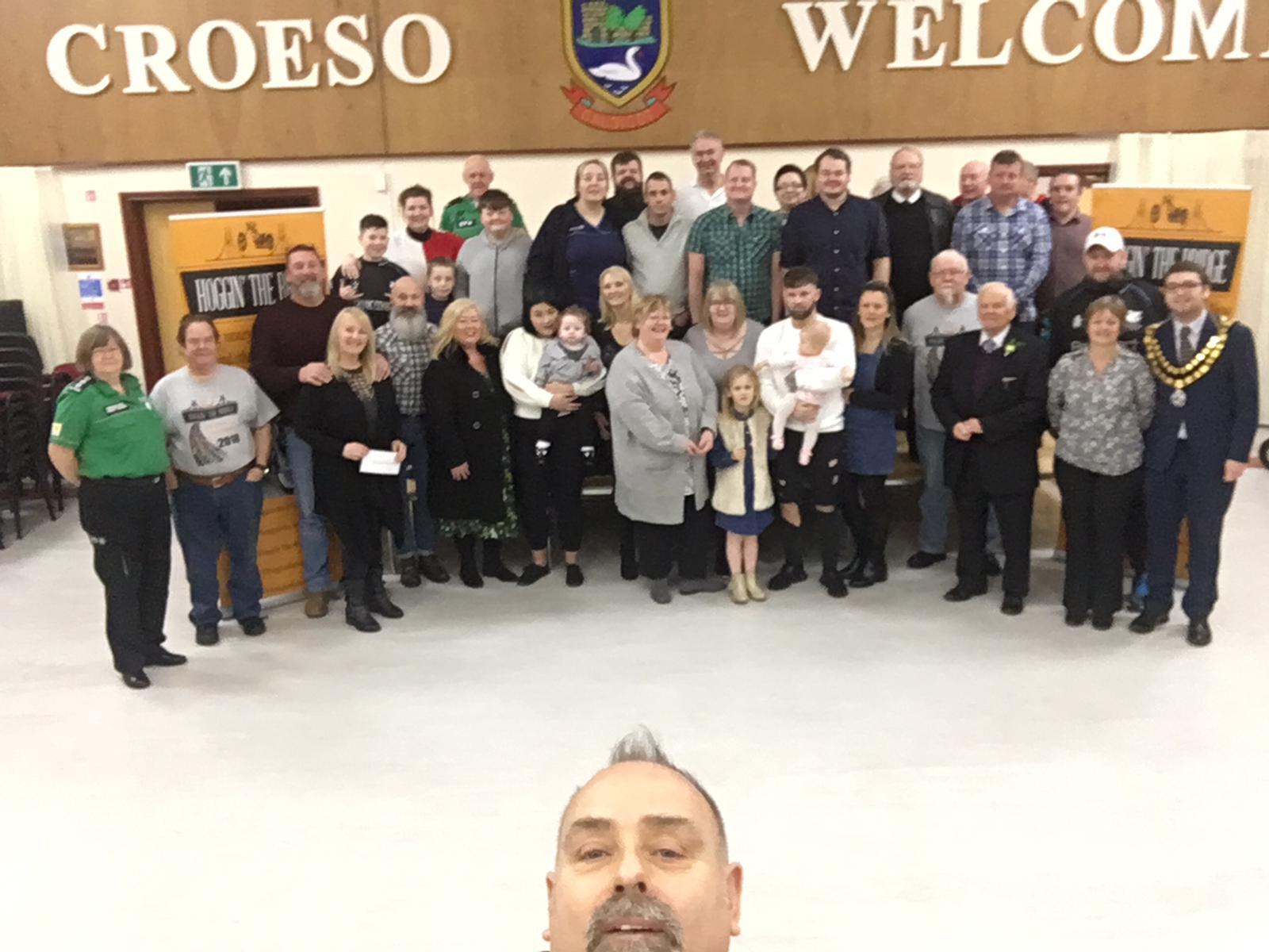 2018 Charity Donation Presentation