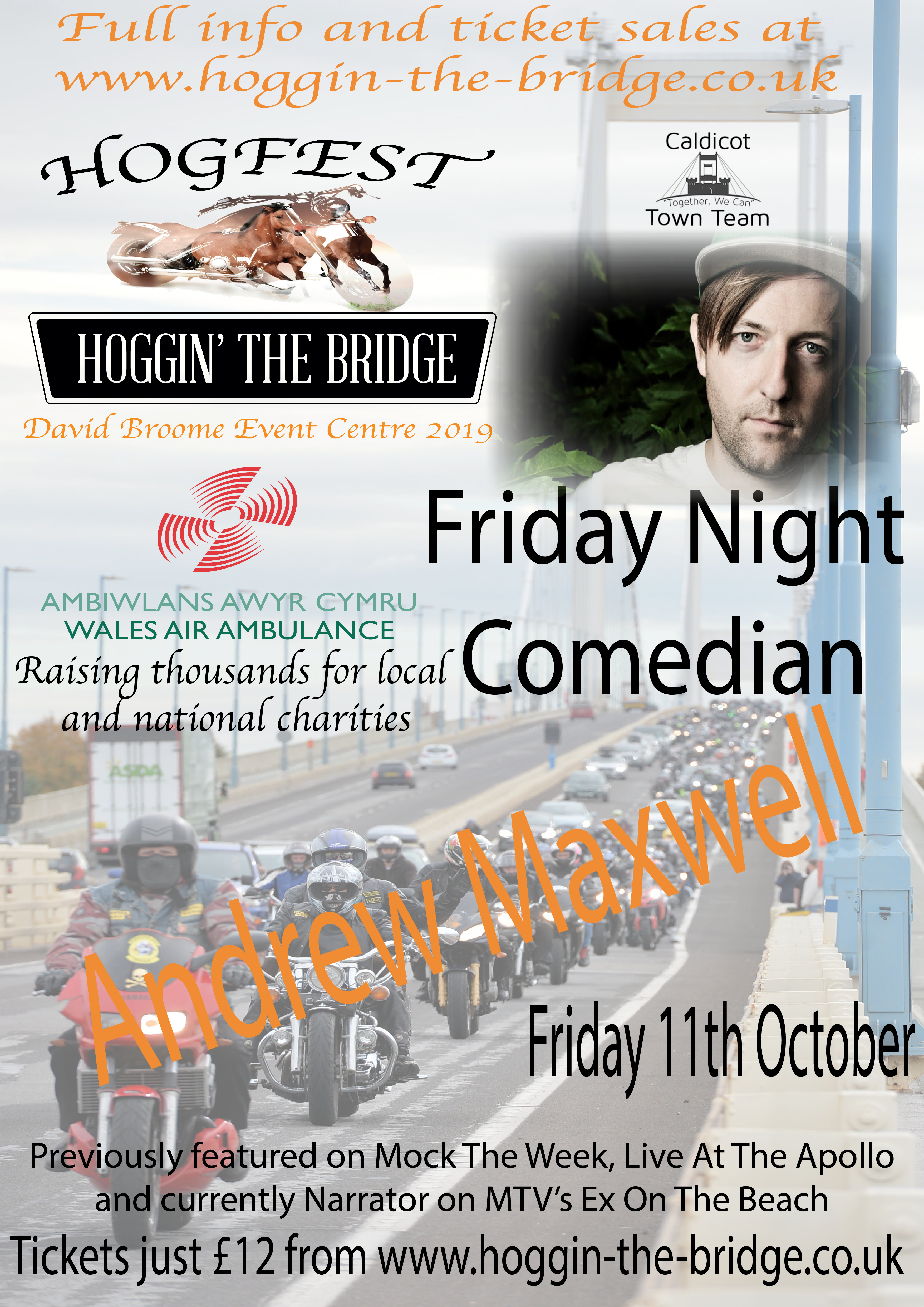 Friday Night Comedy @ HogFest