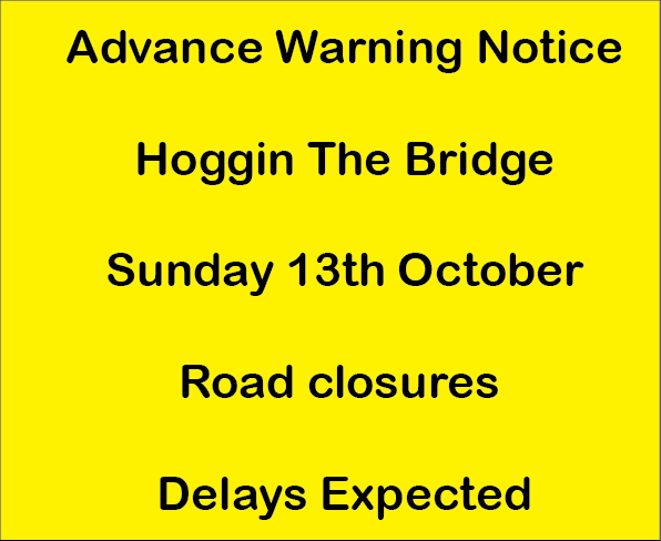 Advance Road Warnings – HTB 2019
