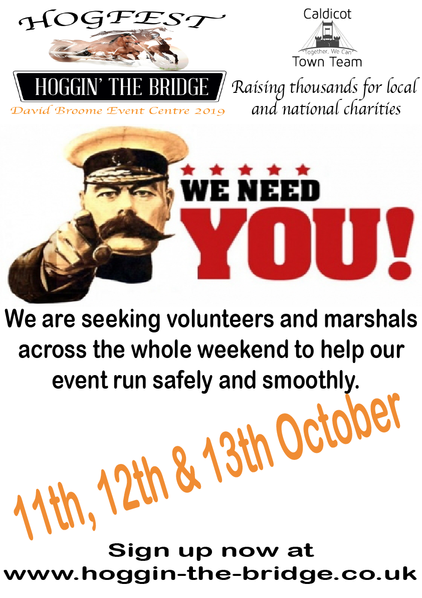 Volunteer Call For This Years Event